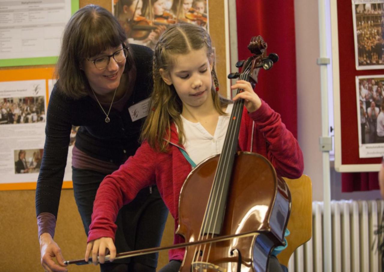 Eignungsberatung zur neuen Musikklasse