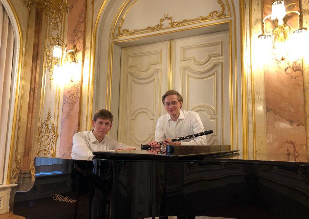 Konzert mit Till Faulhaber und Lysander Burleigh